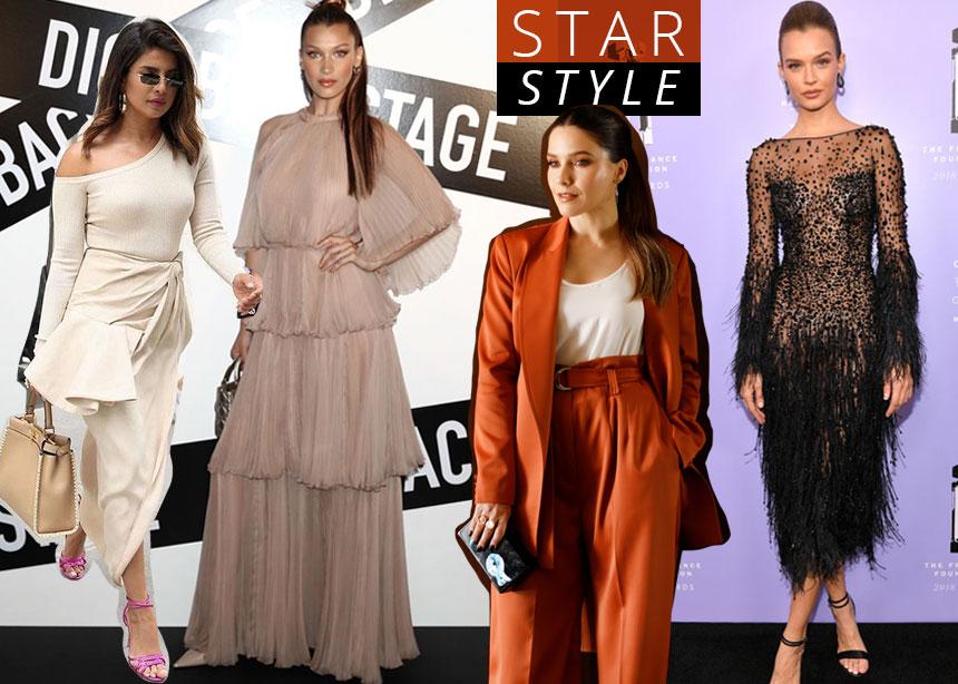 Τι φόρεσαν οι διάσημες αυτήν την εβδομάδα; Ψήφισε την καλύτερη εμφάνιση