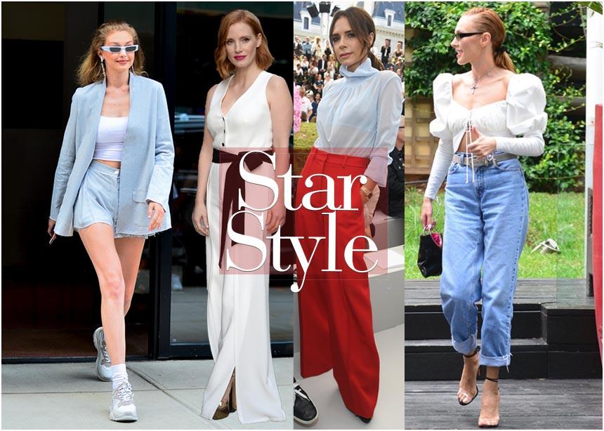 Τα outfit που επέλεξαν οι διάσημες αυτήν την εβδομάδα! Ψήφισε την καλύτερη εμφάνιση | tlife.gr
