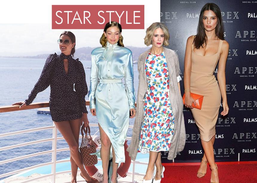 Οι στιλιστικές επιλογές των celebrities αυτήν την εβδομάδα. Ψήφισε την καλύτερη εμφάνιση!