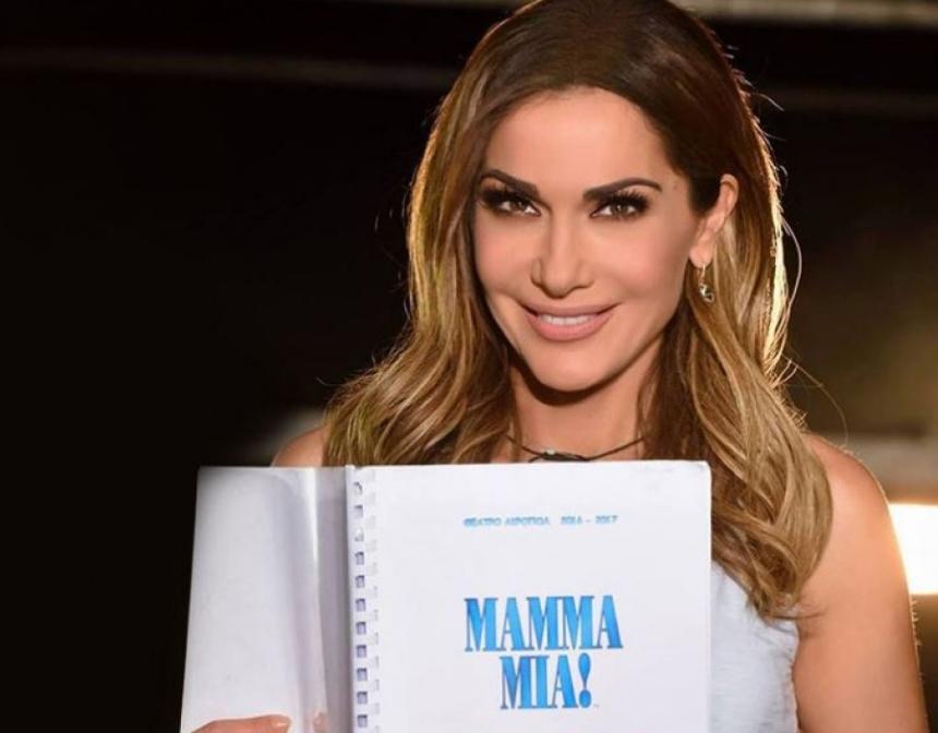 Δέσποινα Βανδή: Ξεκίνησε τις πρόβες για την περιοδεία του Mamma Mia!   tlife.gr