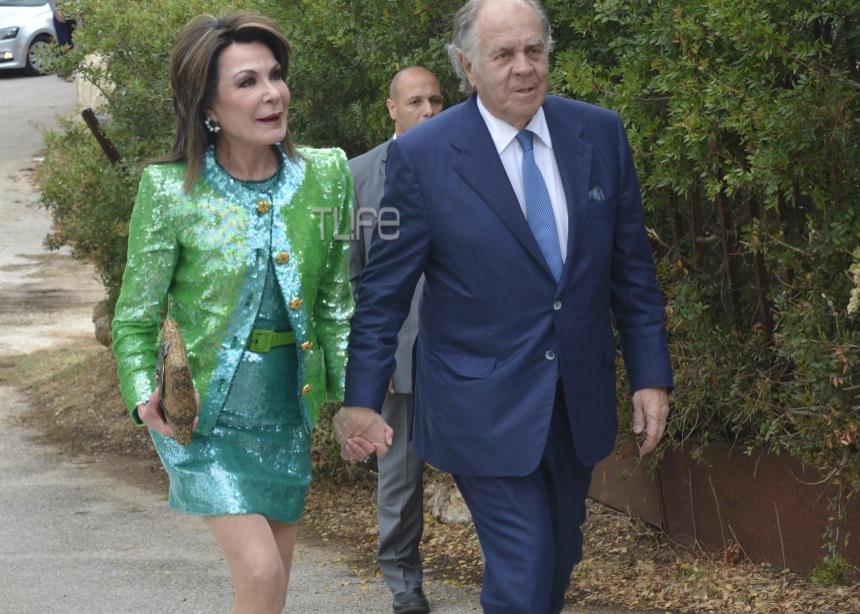 Γιάννα Αγγελοπούλου: Έκλεψε τις εντυπώσεις στο γάμο του γιου της Έλλης Στάη [pics]