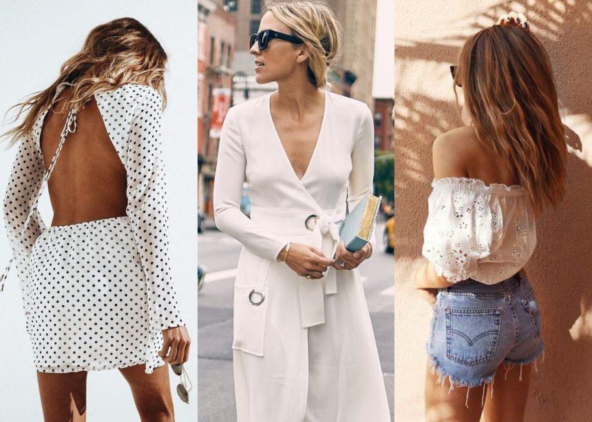 Πλάτη έξω, βαθύ ντεκολτέ, off shoulder tops: Τι σουτιέν να φορέσω; | tlife.gr