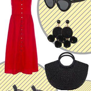 Το φόρεμα με κουμπιά