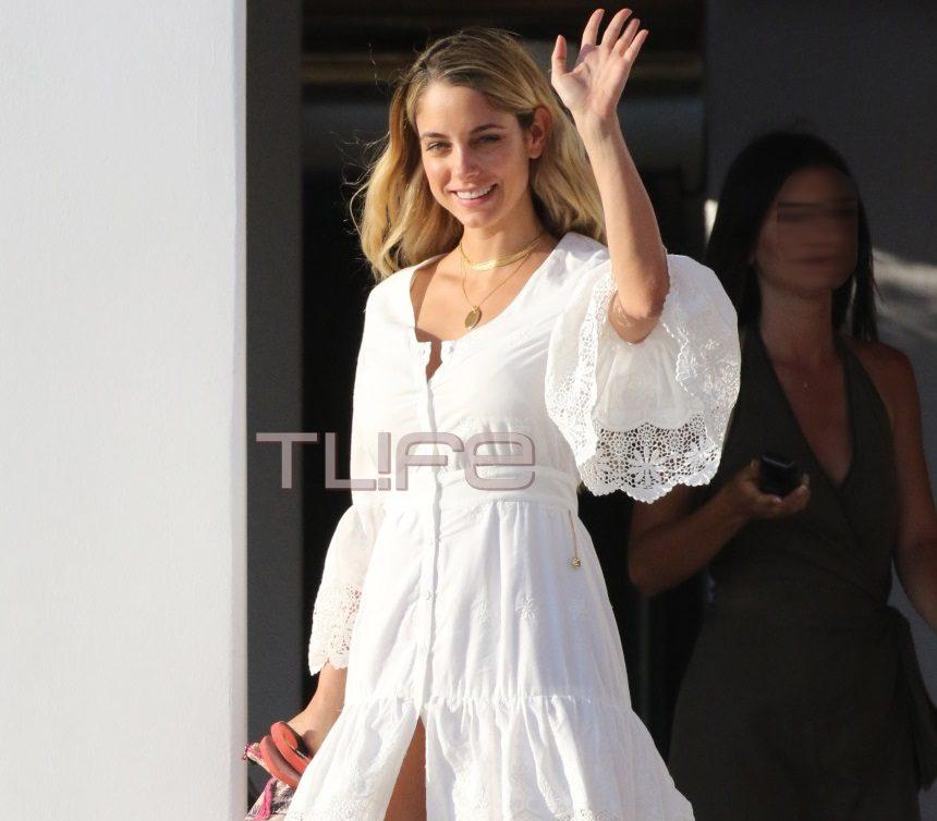Δούκισσα Νομικού: Χαλαρές στιγμές στη Μύκονο, με εντυπωσιακή εμφάνιση στα λευκά! [pics]   tlife.gr