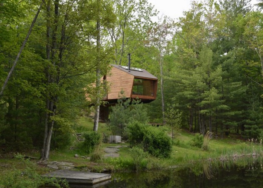 "Inhabit Treehouse: Ένα ειδυλλιακό δενδρόσπιτο στη Νέα Υόρκη που ""κόβει"" την ανάσα | tlife.gr"