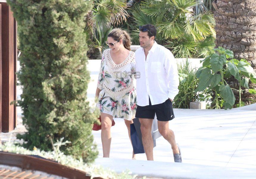 Kelly Brook: Βόλτες με τον γοητευτικό σύντροφό της στην Μύκονο! [pics] | tlife.gr