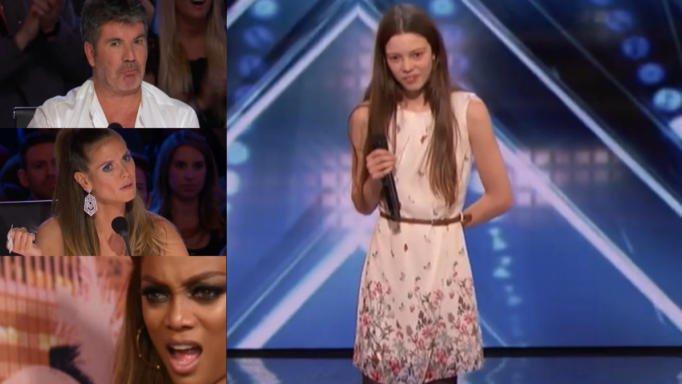 Έκπληκτοι οι κριτές! Μόλις η 13χρονη άνοιξε το στόμα της, δεν μπορούσαν να πιστέψουν στα αυτιά τους! | tlife.gr