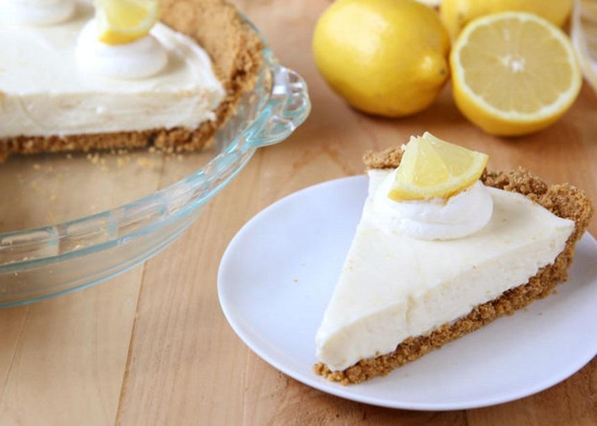 Εύκολη συνταγή για δροσερή lemon pie με γλυκόξινη κρέμα ΓΙΩΤΗΣ   tlife.gr
