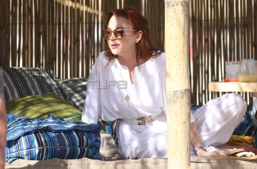 Lindsay Lohan:  Οι διακοπές στη Μύκονο και το νέο club που άνοιξε στο νησί! [pics,vid] | tlife.gr