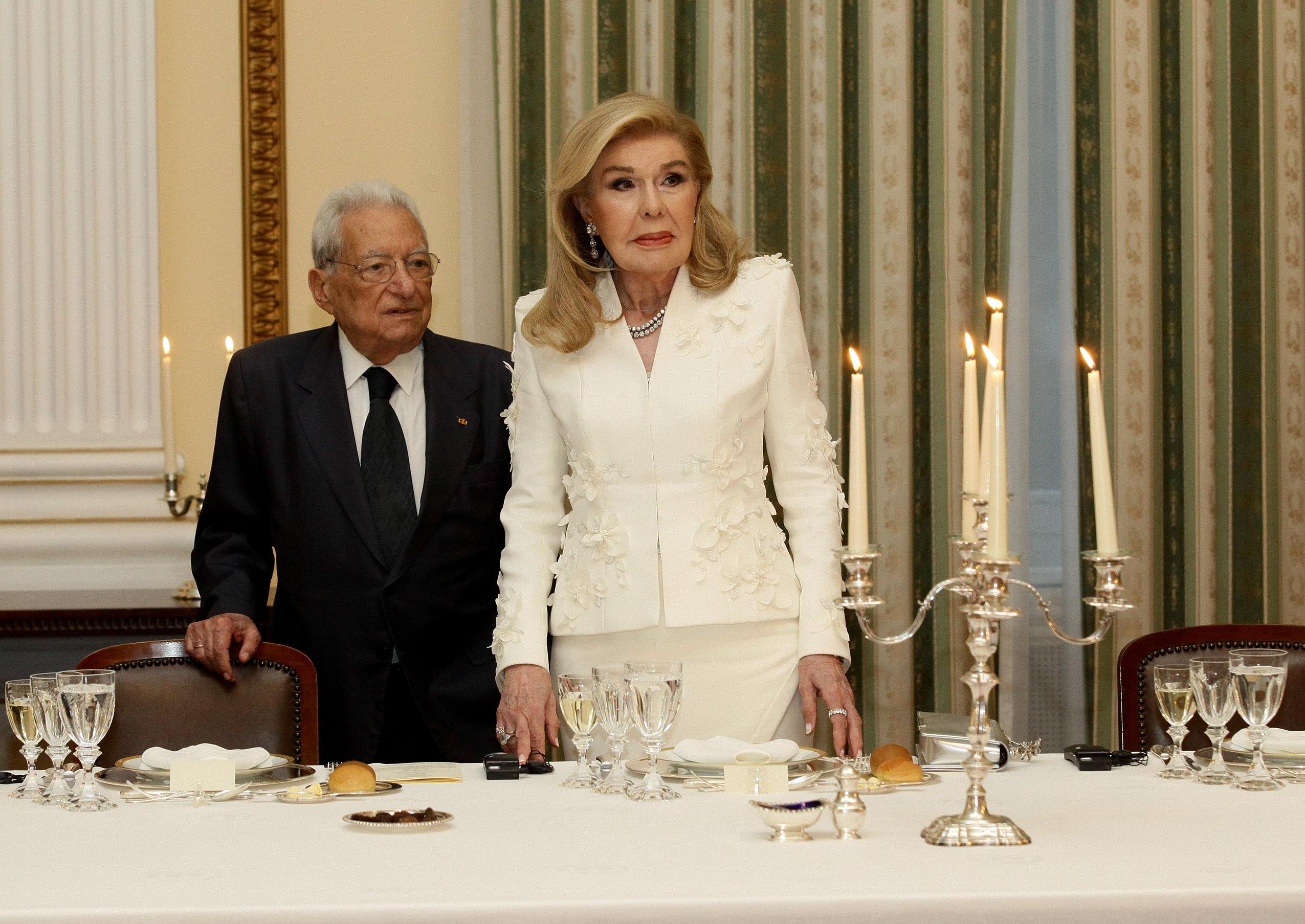 Μαριάννα Βαρδινογιάννη: Στο επίσημο δείπνο για τον Πρόεδρο της Δημοκρατίας της Ινδίας! | tlife.gr