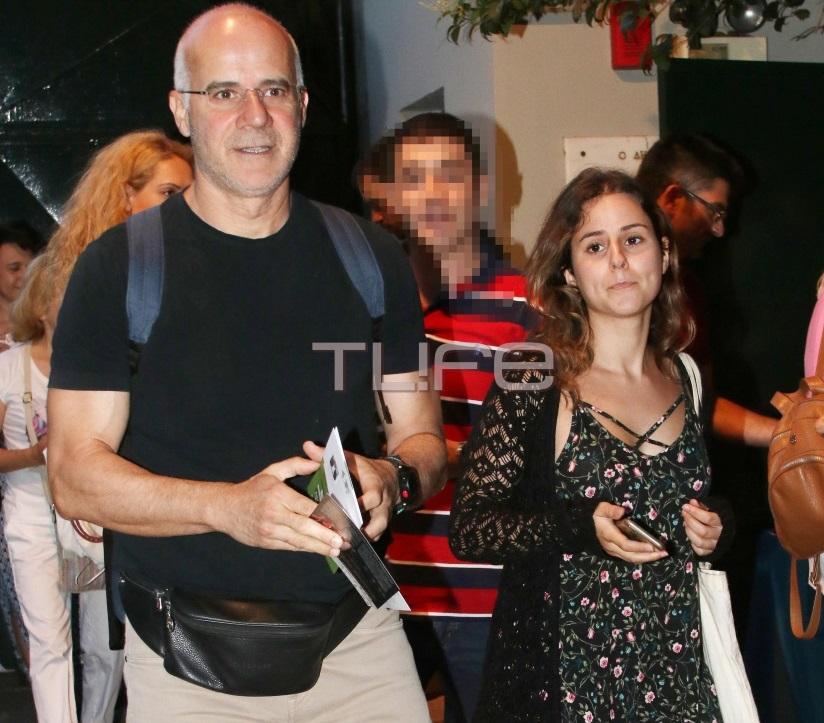 Γιώργος Μητσικώστας: Σπάνια εμφάνιση με την όμορφη κόρη του Μάρθα! [pics] | tlife.gr
