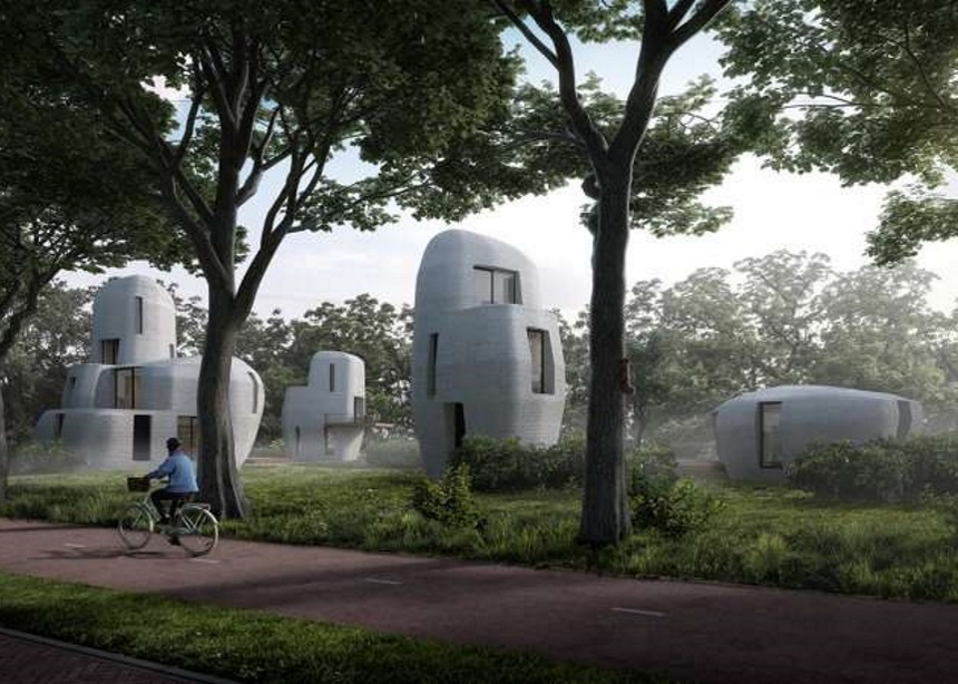 Οι πρώτες κατοικίες από 3D printed βιομηχανικό μπετόν είναι γεγονός! | tlife.gr