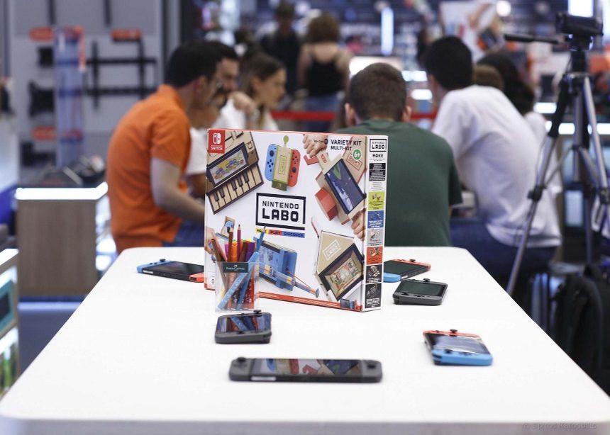 Τα Public μας συστήνουν το Nintendo Labo και το gaming γίνεται DIY! | tlife.gr