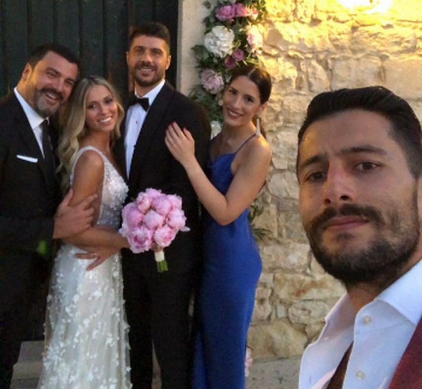 Μιχάλης Σηφάκης – Όλγα Στεφανίδη: Παντρεύτηκαν στο Ηράκλειο της Κρήτης! [pics,vid]