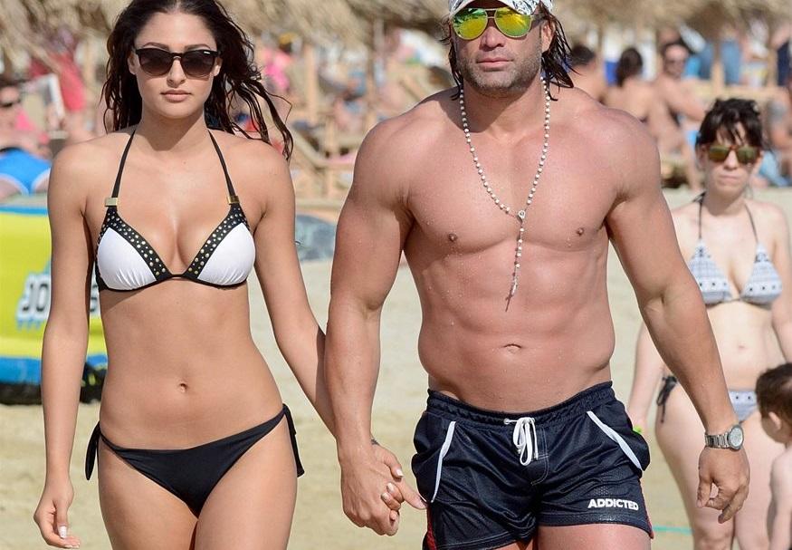Κώστας Σόμμερ: Η … σέξι γυμναστική που κάνει με την αγαπημένη του! video   tlife.gr