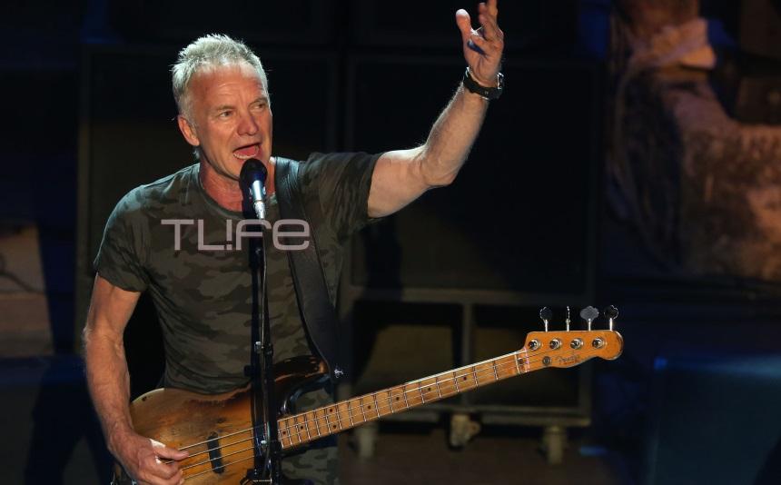 Ο Sting τραγουδησε στο Ηρώδειο! Ποιοι διάσημοι απόλαυσαν τον μεγάλο σταρ! [pics] | tlife.gr
