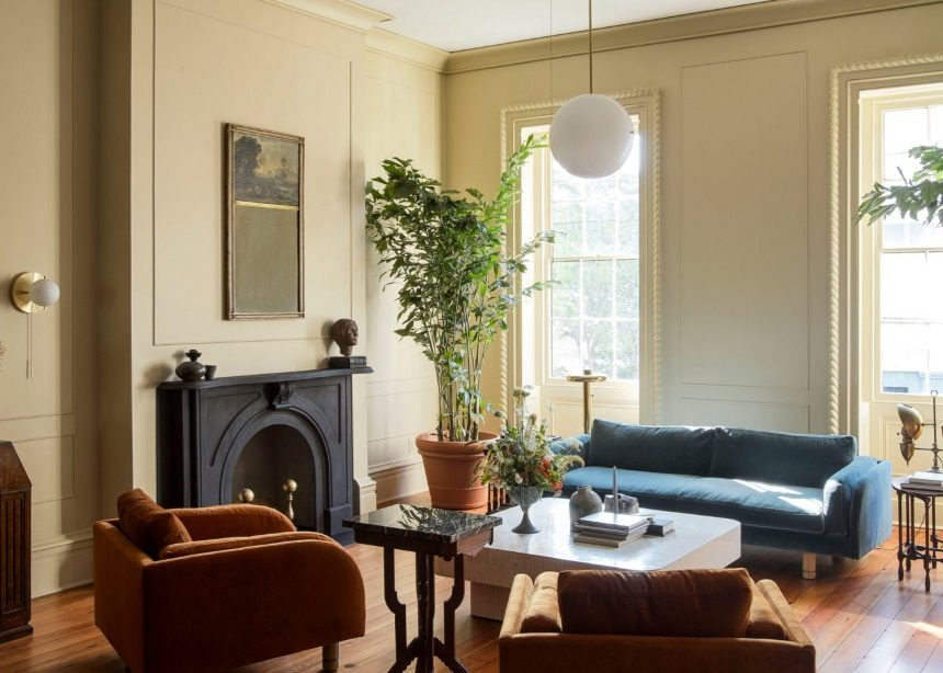 Workstead House: Ένα ιστορικό κτίριο του 19ου αιώνα αποκτά τη διακριτική αίγλη του Αμερικανικού Νότου | tlife.gr