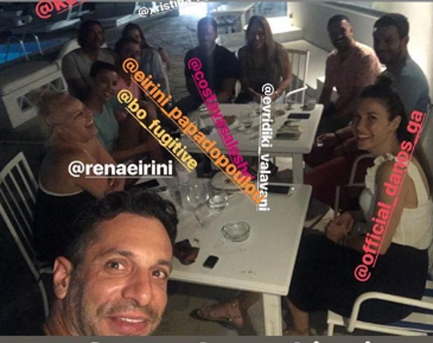 Γιώργος Χρανιώτης: Reunion με τους Survivors στην Τήνο, πριν το γάμο του! [pics] | tlife.gr