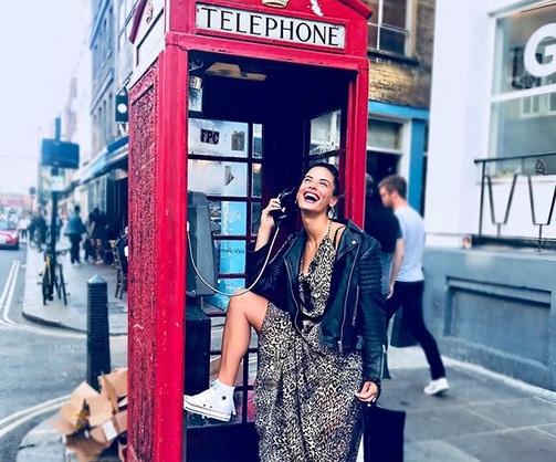 Χριστίνα Μπόμπα: Νέες φωτογραφίες και βίντεο από το ταξίδι της στο Λονδίνο! | tlife.gr