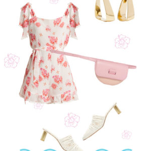To lux floral playsuit