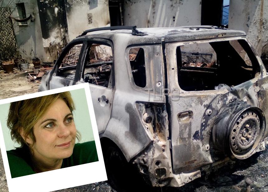 Χρύσα Σπηλιώτη – Δημήτρης Τουρναβίτης: Η ανατροπή που δίνει ελπίδες – Αποκλειστικές φωτογραφίες από τα καμένα αυτοκίνητά τους στο κτήμα που βρέθηκαν οι 26 νεκροί