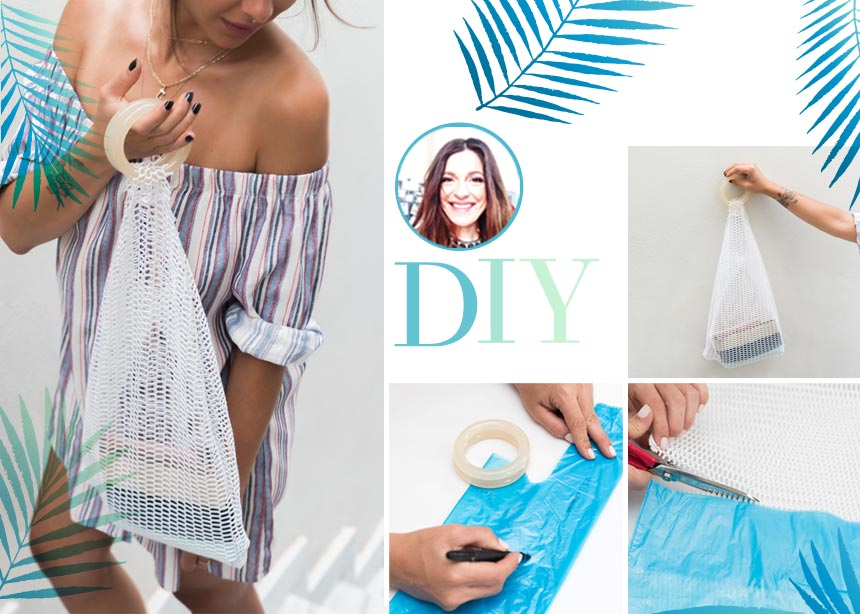 DIY: Πως να φτιάξεις εύκολα μια net bag σαν αυτές που βλέπεις στο instagram