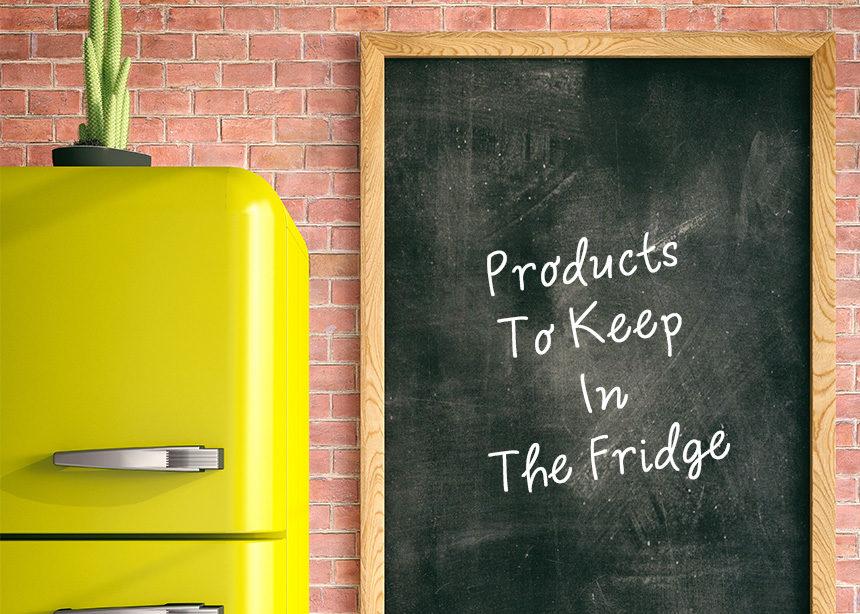 Αυτά τα καλλυντικά πρέπει να τα βάλεις στο ψυγείο σου asap! | tlife.gr