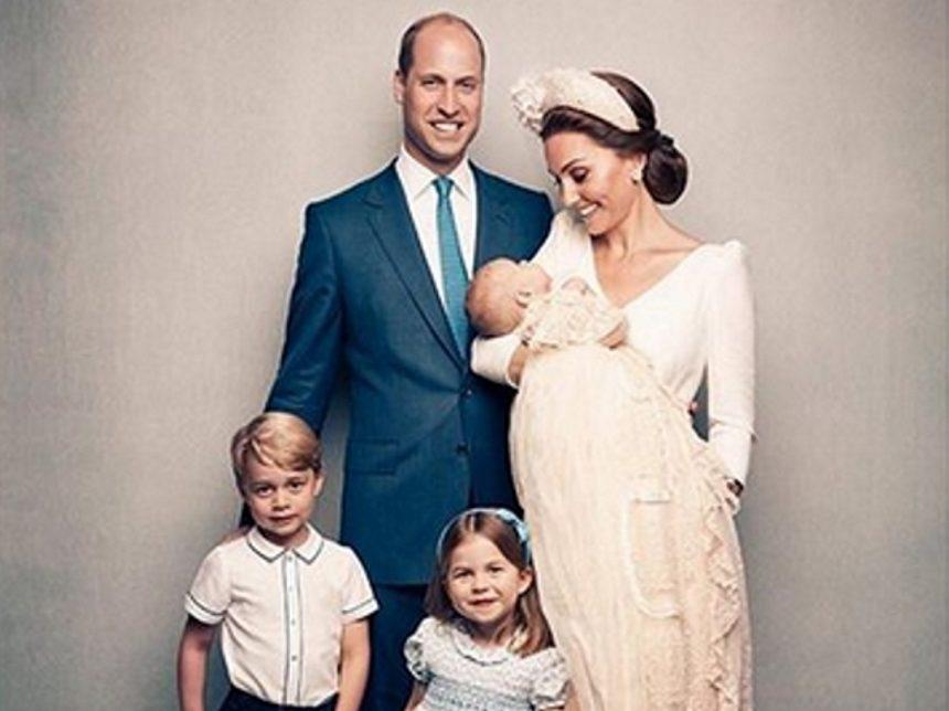 Πρίγκιπας William – Kate Middleton: Η επίσημη φωτογράφιση μετά τη βάφτιση του πρίγκιπα Louis! | tlife.gr