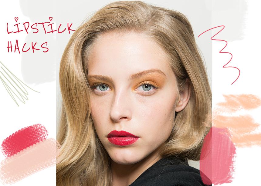 Πώς θα αλλάξεις χρώμα στο κραγιόν σου και 5 ακόμη lipstick hacks που δεν ήξερες! | tlife.gr