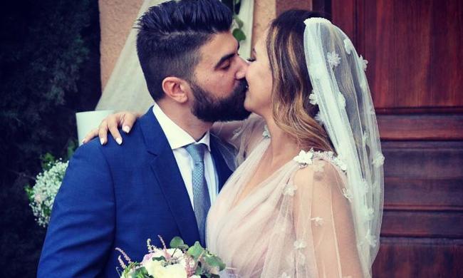 Κλέλια Πανταζή: Η συγκινητική ανάρτηση του συζύγου της μετά το γάμο!