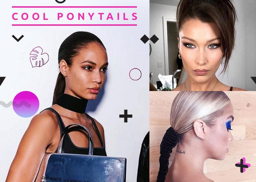 Τα ponytail δεν είναι για τις bad hair days! Οι δέκα πιο cool κοτσίδες που θα θες να κάνεις κάθε μέρα!