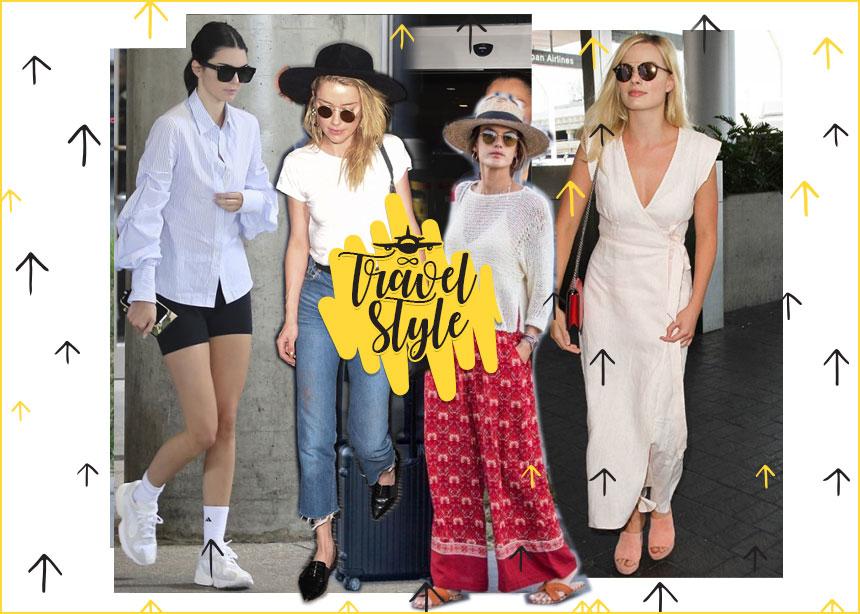 Τι φορούν οι σταρ όταν ταξιδεύουν; Πάρε ιδέες για τέλεια looks   tlife.gr