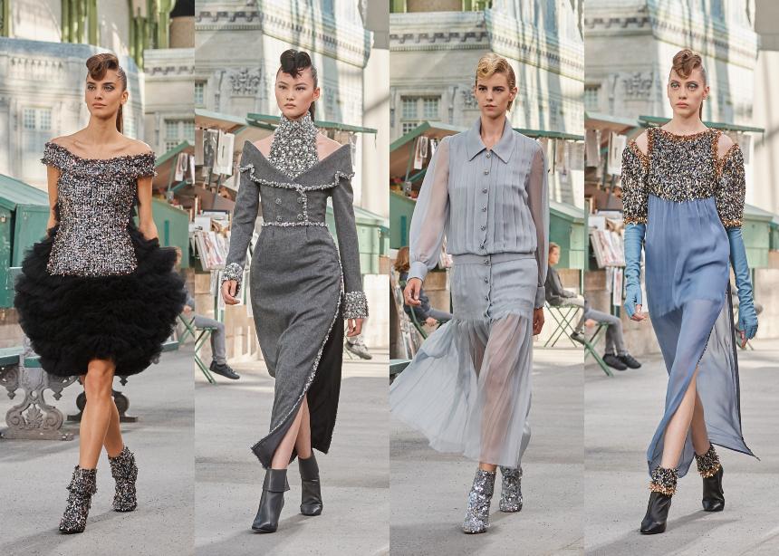 Η Couture συλλογή της Chanel τιμά το Παρίσι με ένα ξεχωριστό τρόπο. Ποιοι διάσημοι βρέθηκαν στο show;   tlife.gr