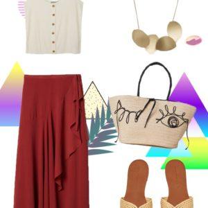 Η φούστα με τα βολάν