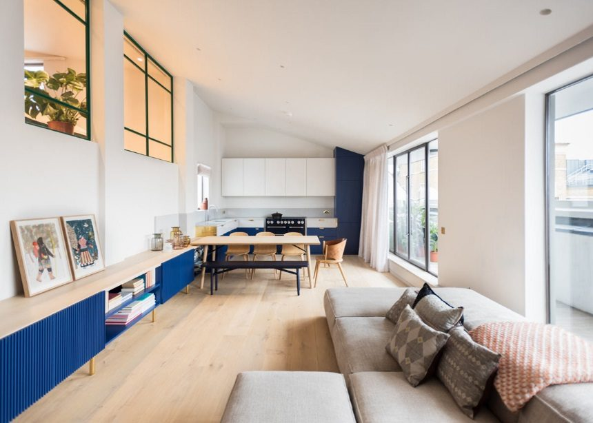 Covent Garden penthouse: Η urban μεζονέτα στο Λονδίνο που ενθουσιάζει με τις αισθητικές γραμμές του | tlife.gr