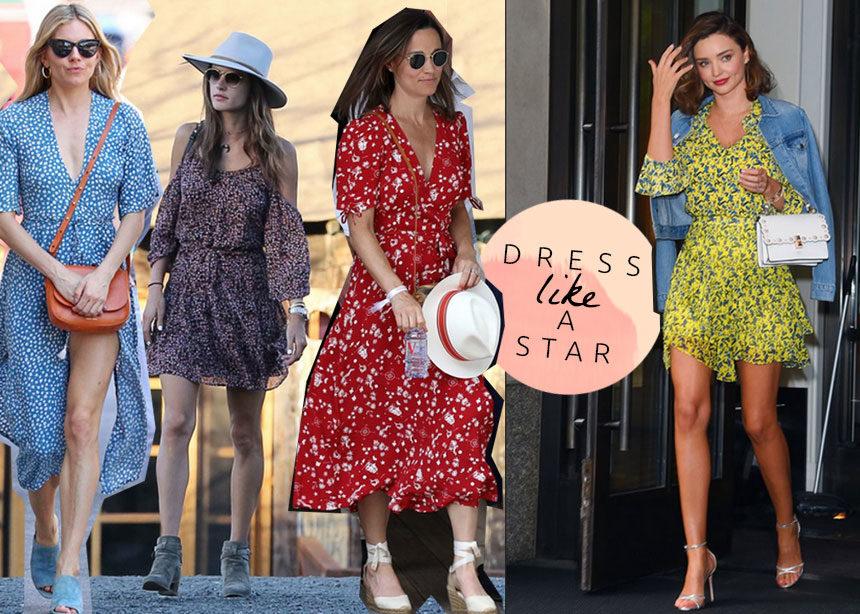 Floral φόρεμα: 10 διάσημες το φορούν με τον πιο stylish τρόπο κι εμείς παίρνουμε ιδέες | tlife.gr