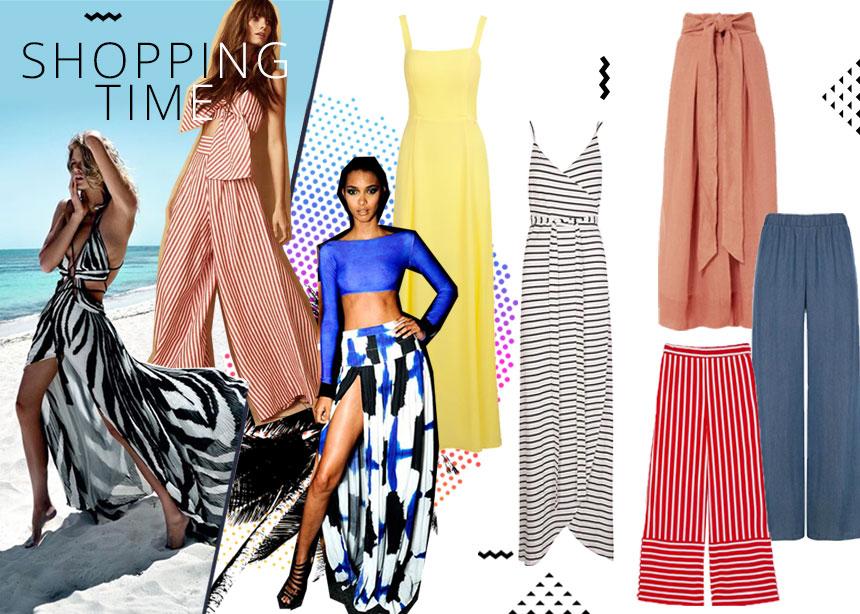 Φορέματα, maxi φούστες, παντελόνες: Τα πιο τέλεια κομμάτια για να απολαύσεις με στιλ το καλοκαίρι