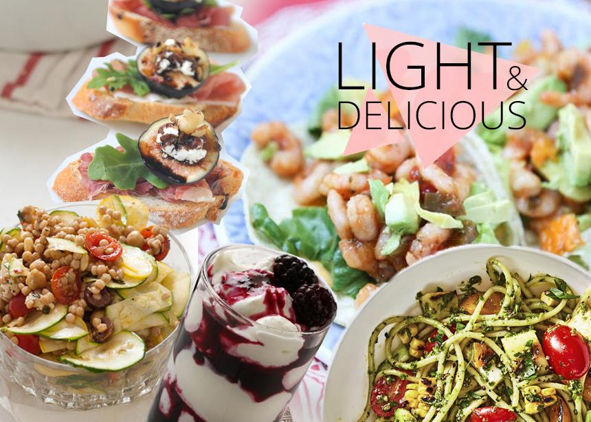 Προσέχεις τη διατροφή σου; 5 καλοκαιρινές συνταγές με λίγες θερμίδες | tlife.gr