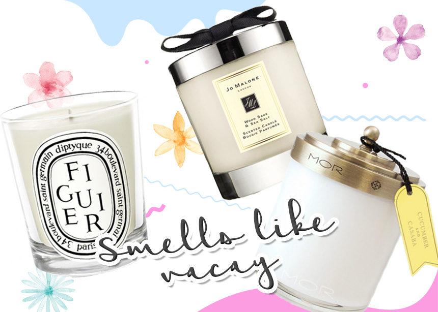 Αυτά τα κεριά μυρίζουν καλοκαίρι και θα μας χρειαστούν μετά τις διακοπές! | tlife.gr