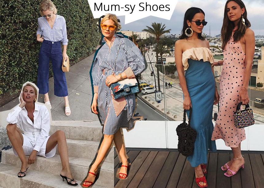 Mum mules: Η νέα τάση στα παπούτσια που πρέπει να φορέσεις πριν τελειώσει το καλοκαίρι