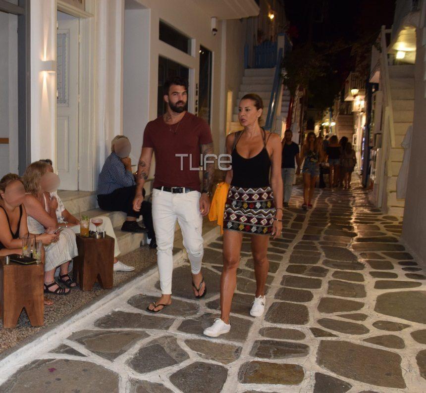 Δημήτρης Αλεξάνδρου – Μαρία Καλάβρια: Ερωτευμένοι στην Μύκονο! [pics] | tlife.gr
