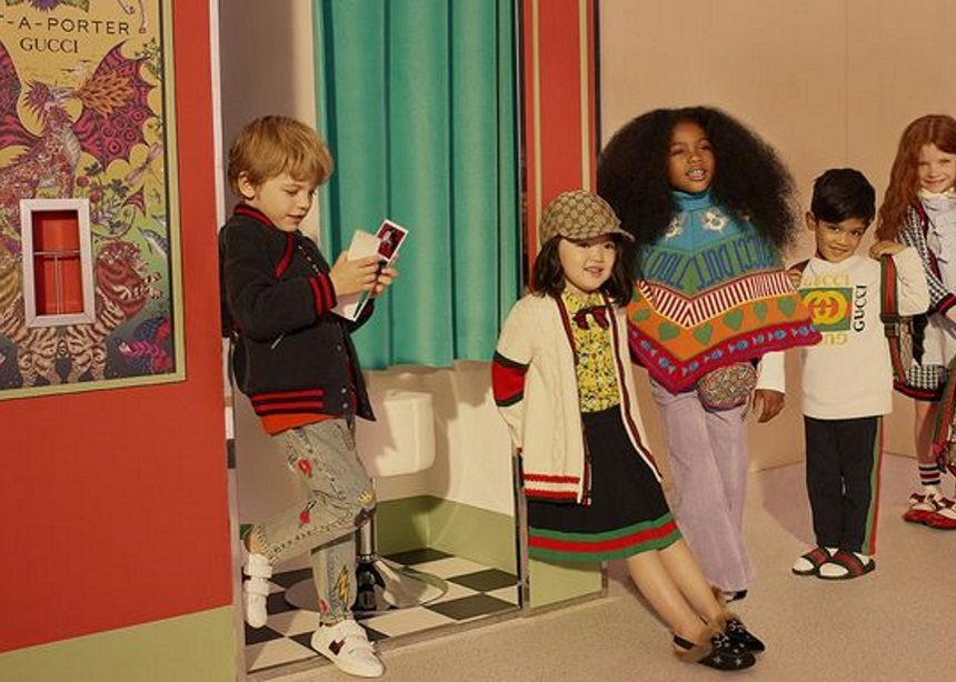 f2da22174b Το πρώτο παιδικό ψηφιακό pop-up store ανήκει στο Net-a-Porter και τον οίκο  Gucci