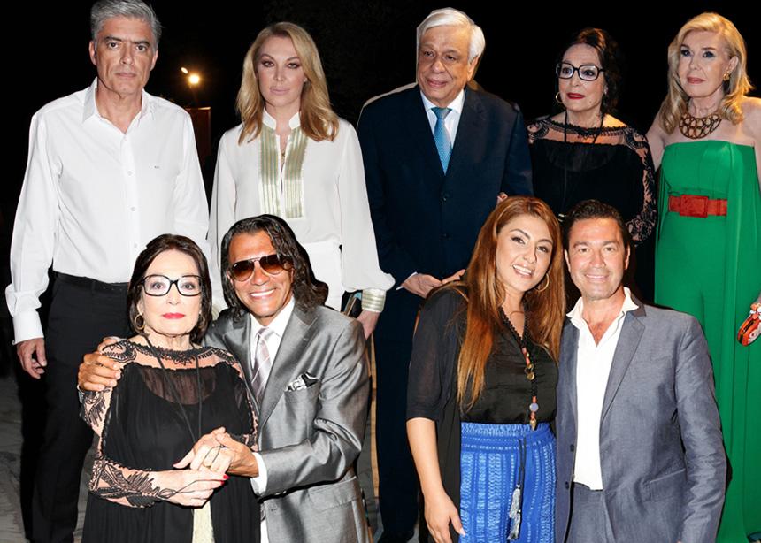 Νάνα Μούσχουρη: Σημαντικές προσωπικότητες στη συναυλία της στο Ηρώδειο [pics]