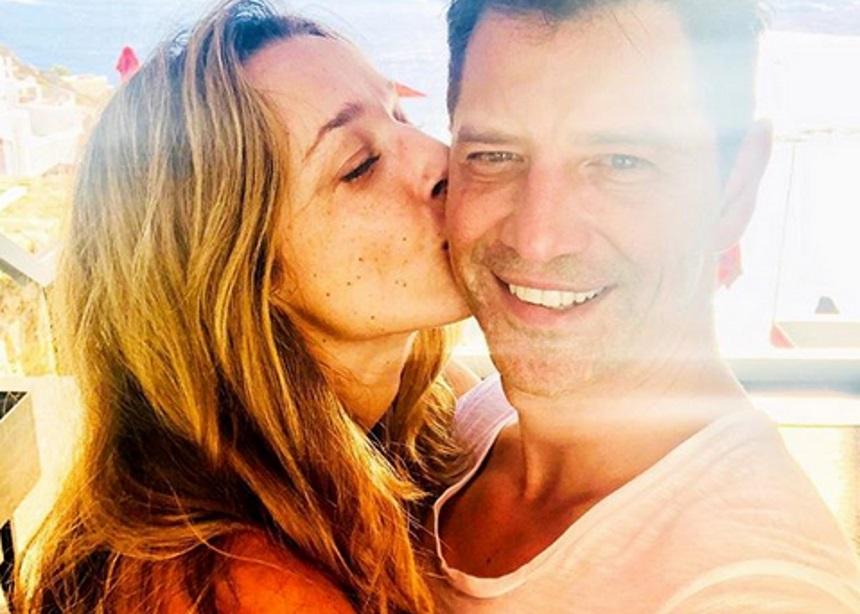 Σάκης Ρουβάς – Κάτια Ζυγούλη: Ρομαντική απόδραση στη Μύκονο