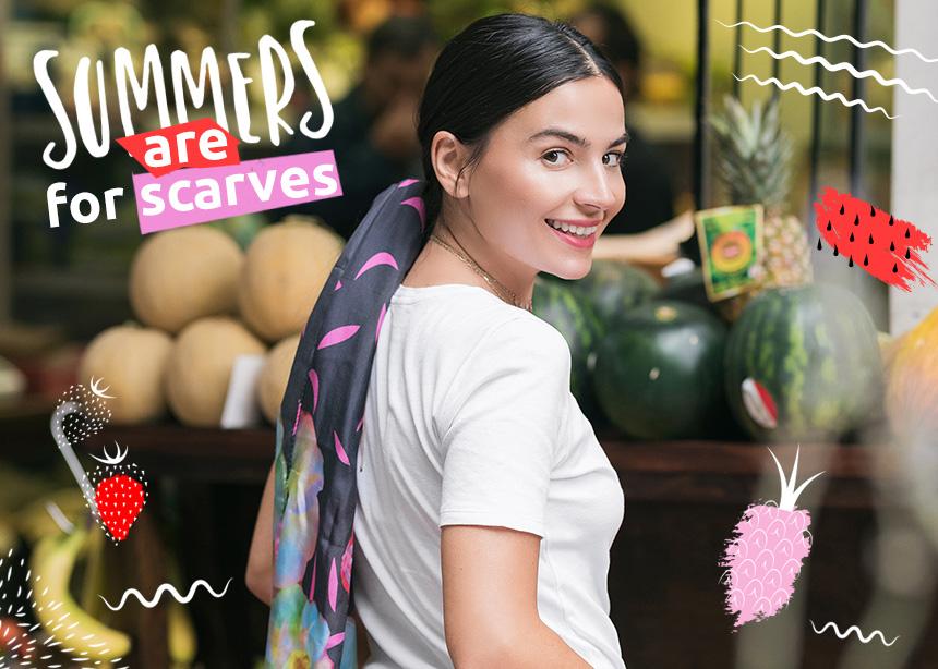 Το καλοκαίρι είναι για μαντήλια στα μαλλιά! 5 πανεύκολοι τρόποι να τα φορέσεις!