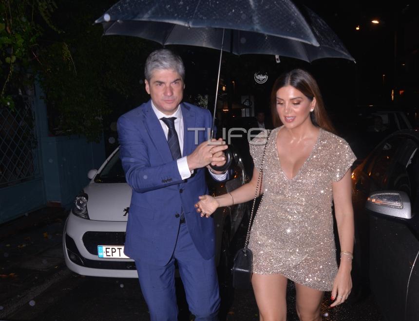 Σταματίνα Τσιμτσιλή: Το σέξι φόρεμα και ο gentleman σύζυγός της Θέμης Σοφός! [pics] | tlife.gr