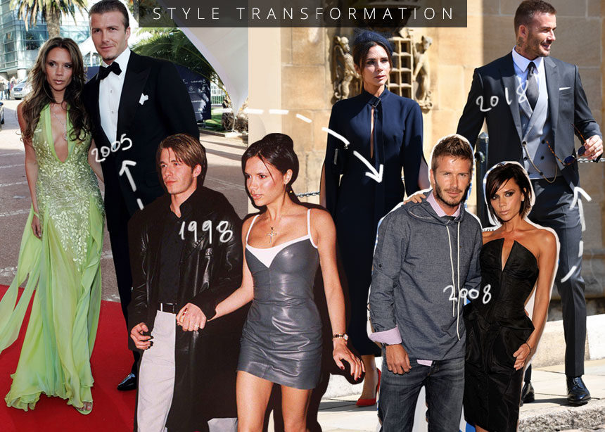 Victoria και David Beckham: Η στιλιστική τους μεταμόρφωση από το 1998 | tlife.gr