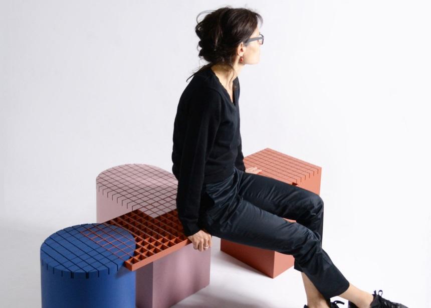 Urban GridBench: Ένα σύστημα καθισμάτων που θυμίζει την ενήλικη εκδοχή των LEGO! | tlife.gr