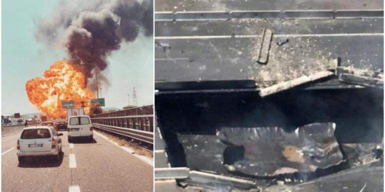Καραμπόλα με εκρήξεις κοντά στο αεροδρόμιο της Μπολόνια! Ένας νεκρός, δεκάδες τραυματίες – Κατέρρευσε γέφυρα – video | tlife.gr