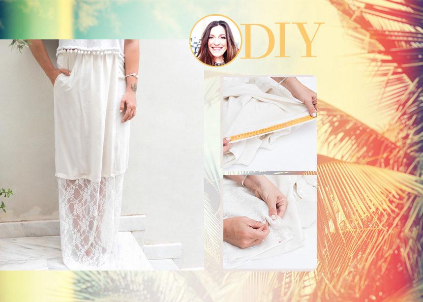 DIY: Πως να φτιάξεις εύκολα την πιο τέλεια φούστα που δεν έχεις βρει ακόμα στα μαγαζιά | tlife.gr